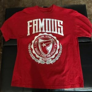 Famous Stars and Straps T-Shirt.